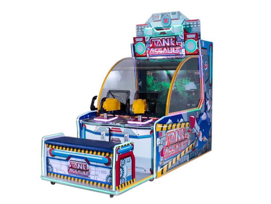 Indoor Ball Shooting Arcade Game Machine For Kids